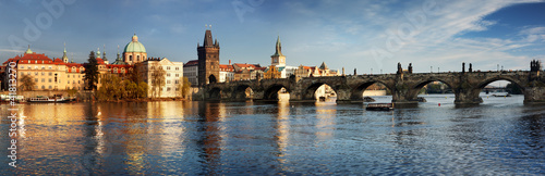 canvas print picture Charles Bridge in the Prague