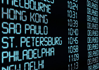 Departure Timetable