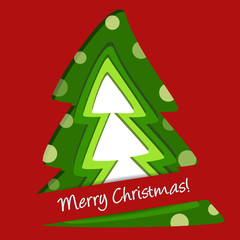 trees background - christmas paper - buon natale