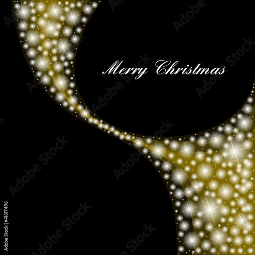 stars background - auguri di buon natale