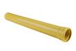 Leinwanddruck Bild - PVC plastic pipe for sewers