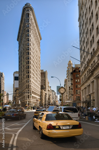 Flatiron Bezirk in New York City