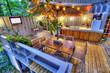 Leinwanddruck Bild - patio deck