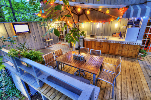 patio deck - 41820644