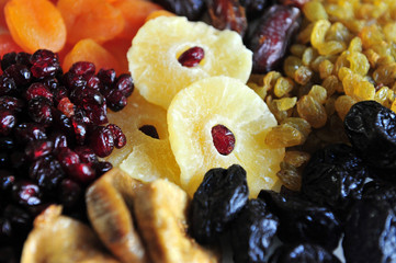 Selection of Dried Fruits