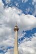 Tour de la Télévision, Berlin. Ciel Nuageux.