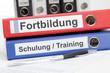 Aktenordner Fortbildung unf Schulung / Training