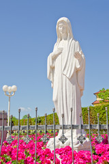 Statue of Virgin Mary, Medjugorje, Bosnia and Herzegovina