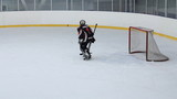 Goalkeeper in hockey
