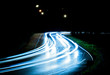 Lichtspur bei Nacht | Kurve - 41825294