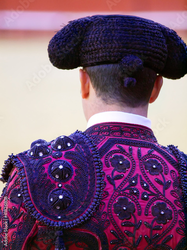 Papiers peints Taurin Traditional costume of Matador