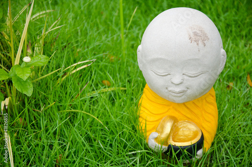 Novice monk Sculpture