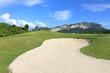 Beautiful golf course. .