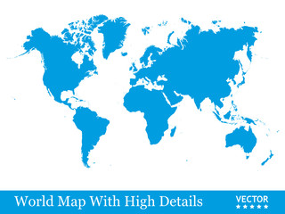 Weltkarte, Welt, Karte, Landkarte, Silhouette, Blau, Business