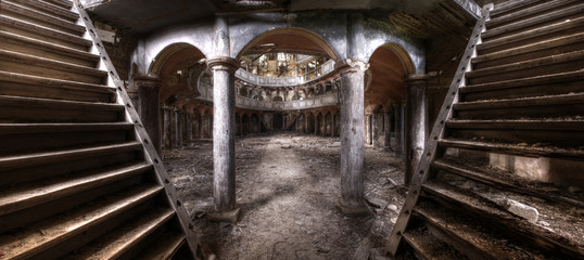 Old theater panorama hdr