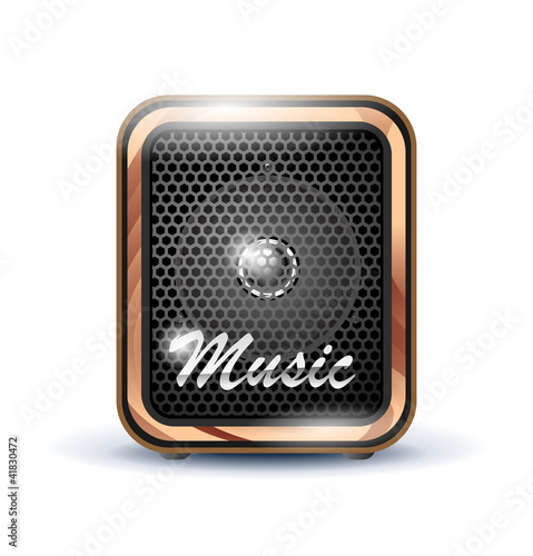 amplifier speaker icon
