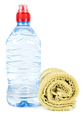 Towel and water