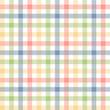 Karo Tischdecken Muster BUNT - endlos