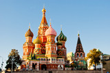 Fototapety St. Basil's Cathedral, Red Square, Moscow