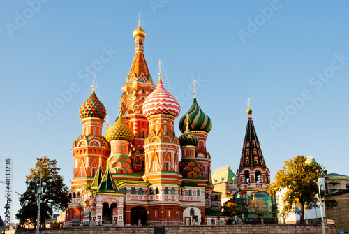 Katedra św Bazylego, Plac Czerwony, Moskwa