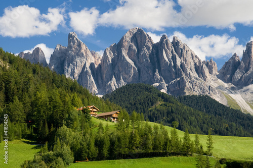 Canvas Alpen The Odle