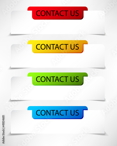buttons contact us