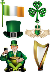 Irish Vector Illustrations