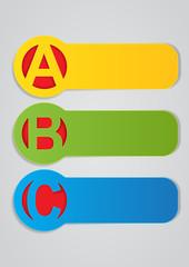 ABC Vector Labels
