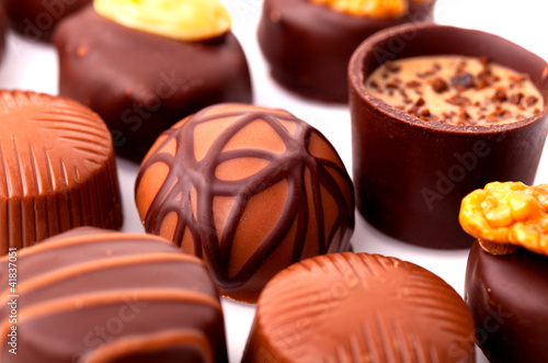 delicious chocolate pralines