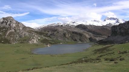 Ercina lake fast
