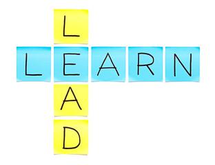 Learn-Lead Crossword