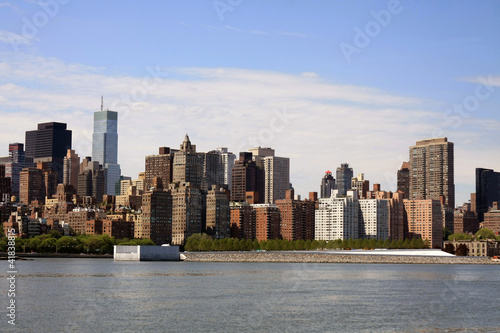la skyline de manhattan