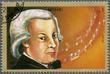 SHARJAH & DEPENDENCIES - 1972: shows Wolfgang Amadeus Mozart