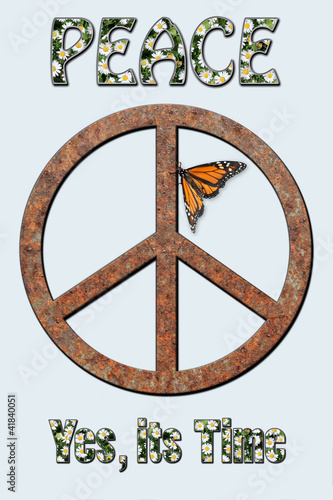 Peace, Yes its Time