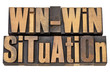 win-win situation in wood type