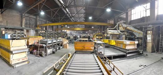 Industrieanlage Innenaufnahme / industrial plant