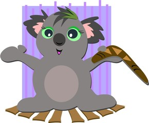 Koala Bear with Boomerang