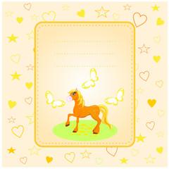 sarı yelili at