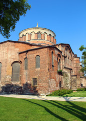 Hagia Irene church in Istanbul, Turkey