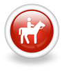 "Light Red Icon ""Horse Trail"""