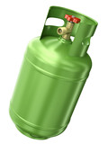 Green gas container