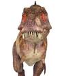 tyranosaur portrait