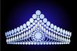 beautiful diadem feminine wedding with pearl