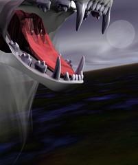 loup garou - soir de pleine lune