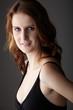 Adult redhead woman