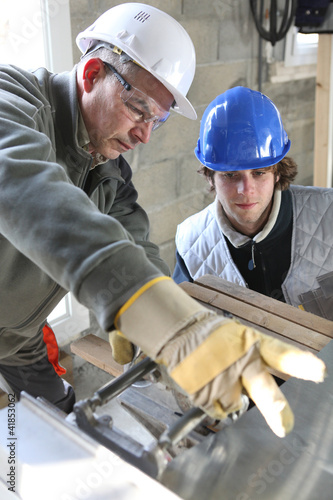 Construction apprentice