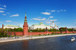 Kind to the Moscow Kremlin,  and quay Moskva River