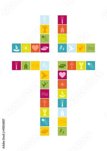 Karte Religion
