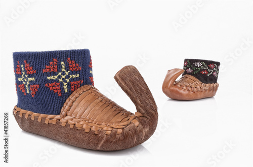 serbian traditional shoes