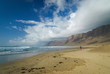 Beautiful beach on Lanzarote